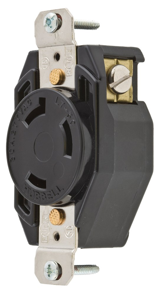 Hubbell L715R Locking Receptacle
