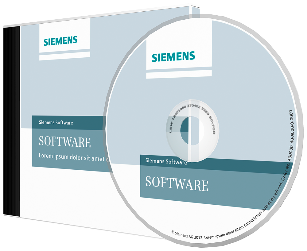 Siemens 6AU18101BA521XE0 Software License