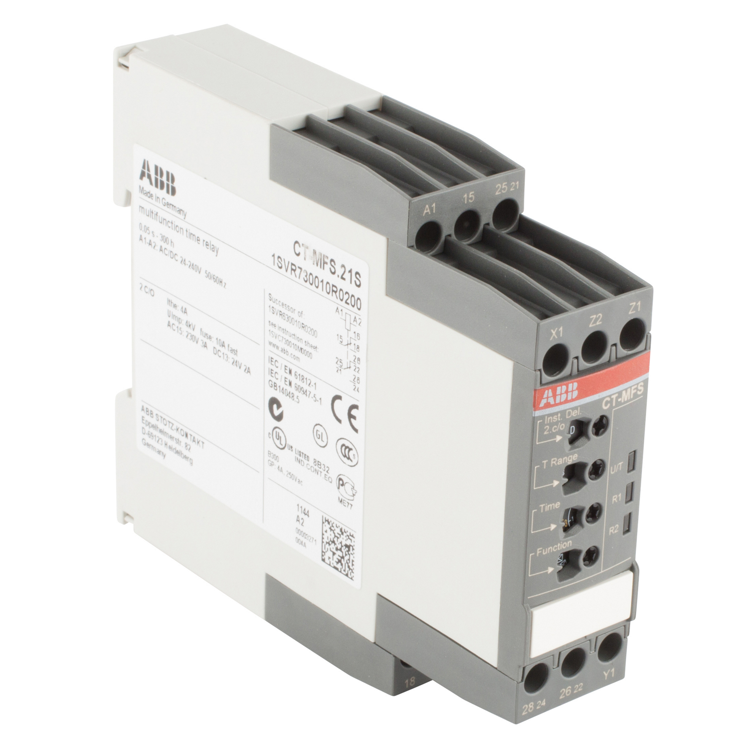 ABB 1SVR730010R0200 Electronic Time Relay
