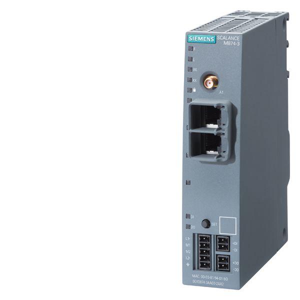 Siemens 6GK58743AA002AA2 SCALANCE 3G Wireless Router
