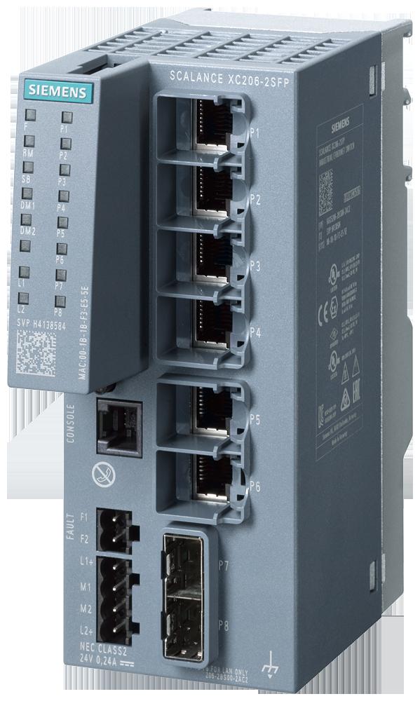Siemens 6GK52062BS002AC2 SIMATIC Industrial Ethernet Switch