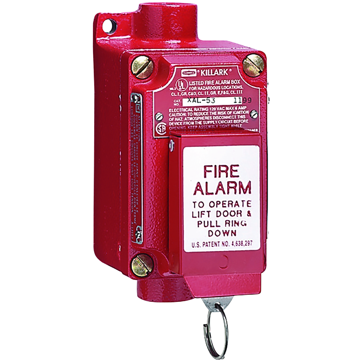 Hubbell XAL-53 Fire Alarm Station