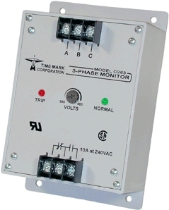 Time Mark Corporation D263 Phase Failure Relay