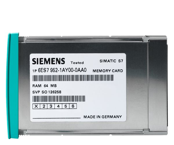 Siemens 6ES79520KH000AA0 Memory Card