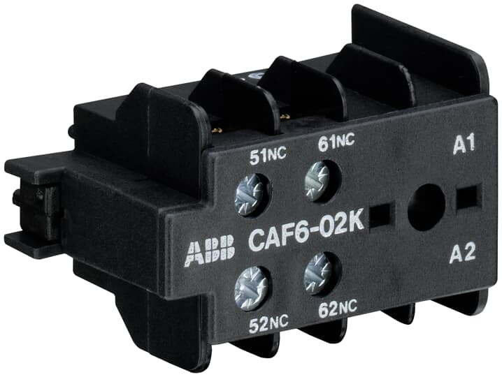 ABB CAF6-02K Auxiliary Contact