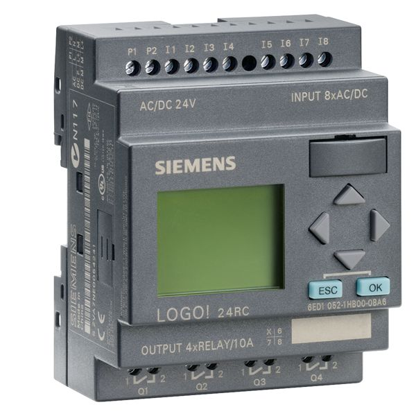 Siemens 6ED10521HB000BA6 Programmable Relay Display Module