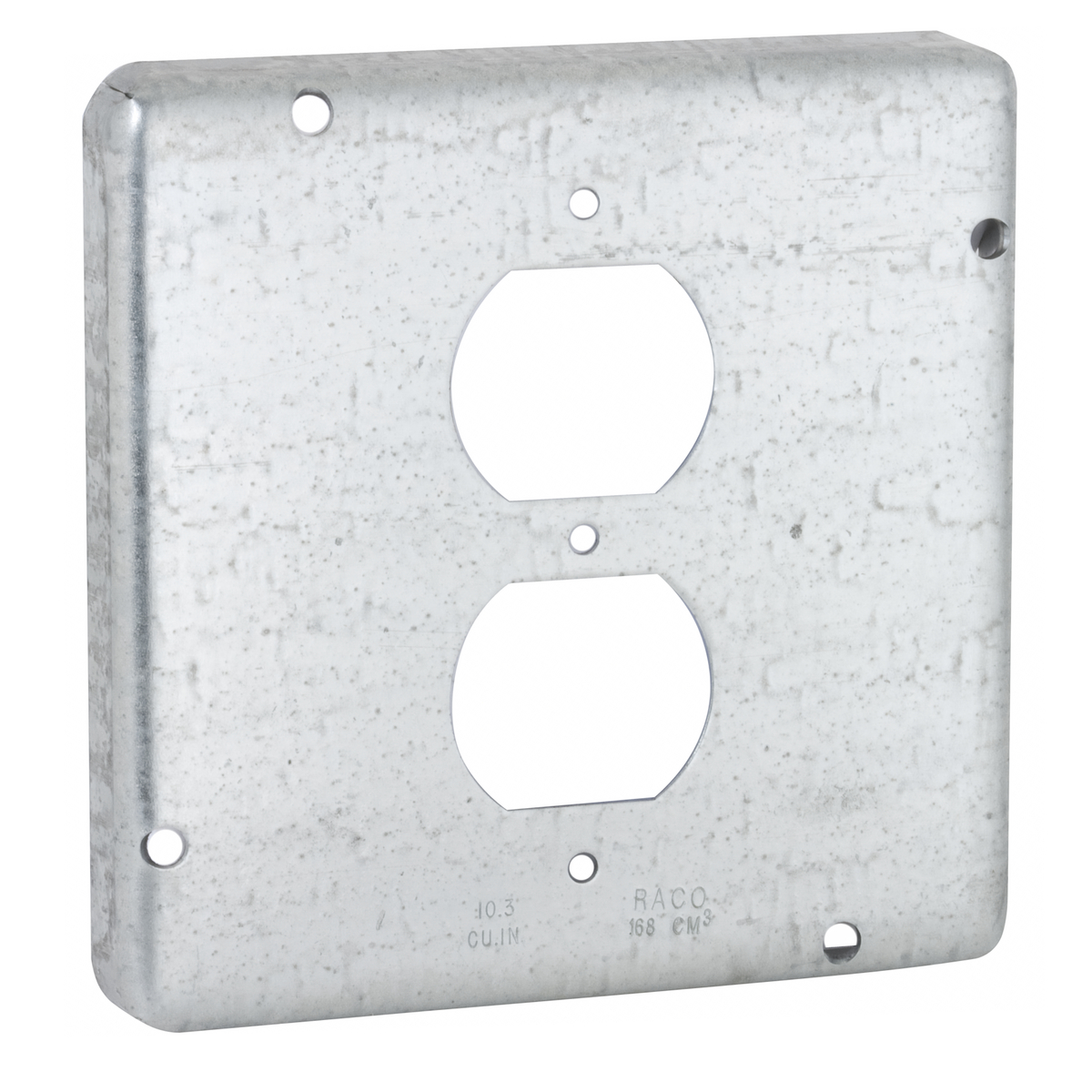 Hubbell-Raco 972 Exposed Work Cover