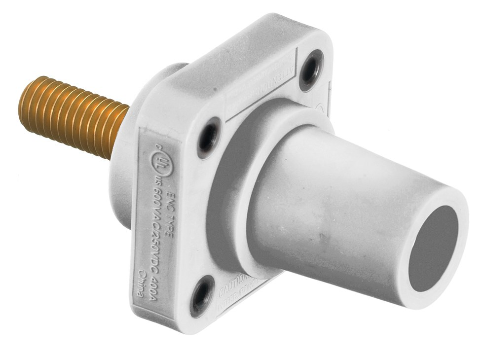 Hubbell HBLFRSCEW Single Pole Receptacle