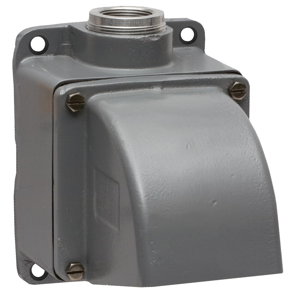 Hubbell MB601002W Back Box