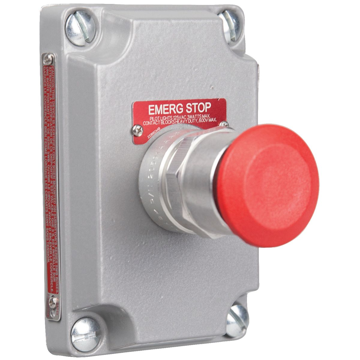 Hubbell XCS-0MMR3 Pushbutton Control Station