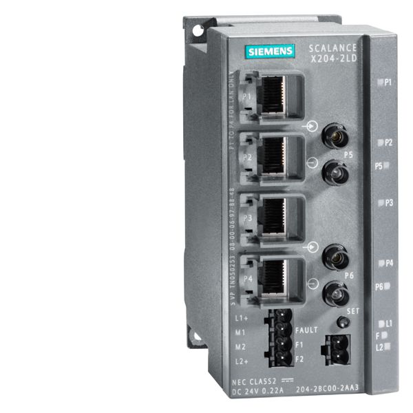 Siemens 6GK52042BC102AA3 Industrial Ethernet Switch