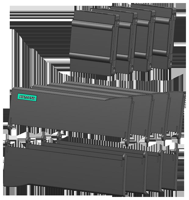Siemens 6ES72911AB300XA0 CPU Door Kit