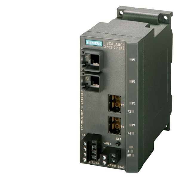 Siemens 6GK52022BH002BA3 Industrial Ethernet IRT Switch