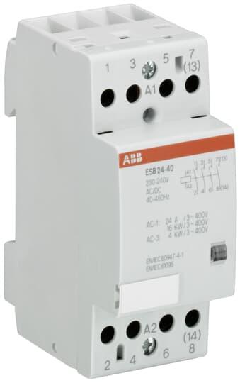 ABB ESB24-40-24 Installation Contactor