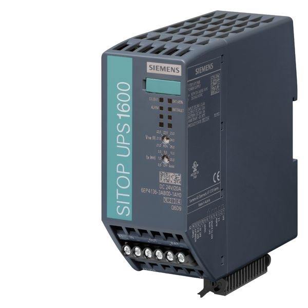Siemens 6EP41363AB001AY0 UPS Module