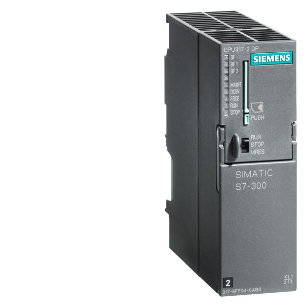 Siemens 6ES73172AK140AB0 SIMATIC Central Processing Unit