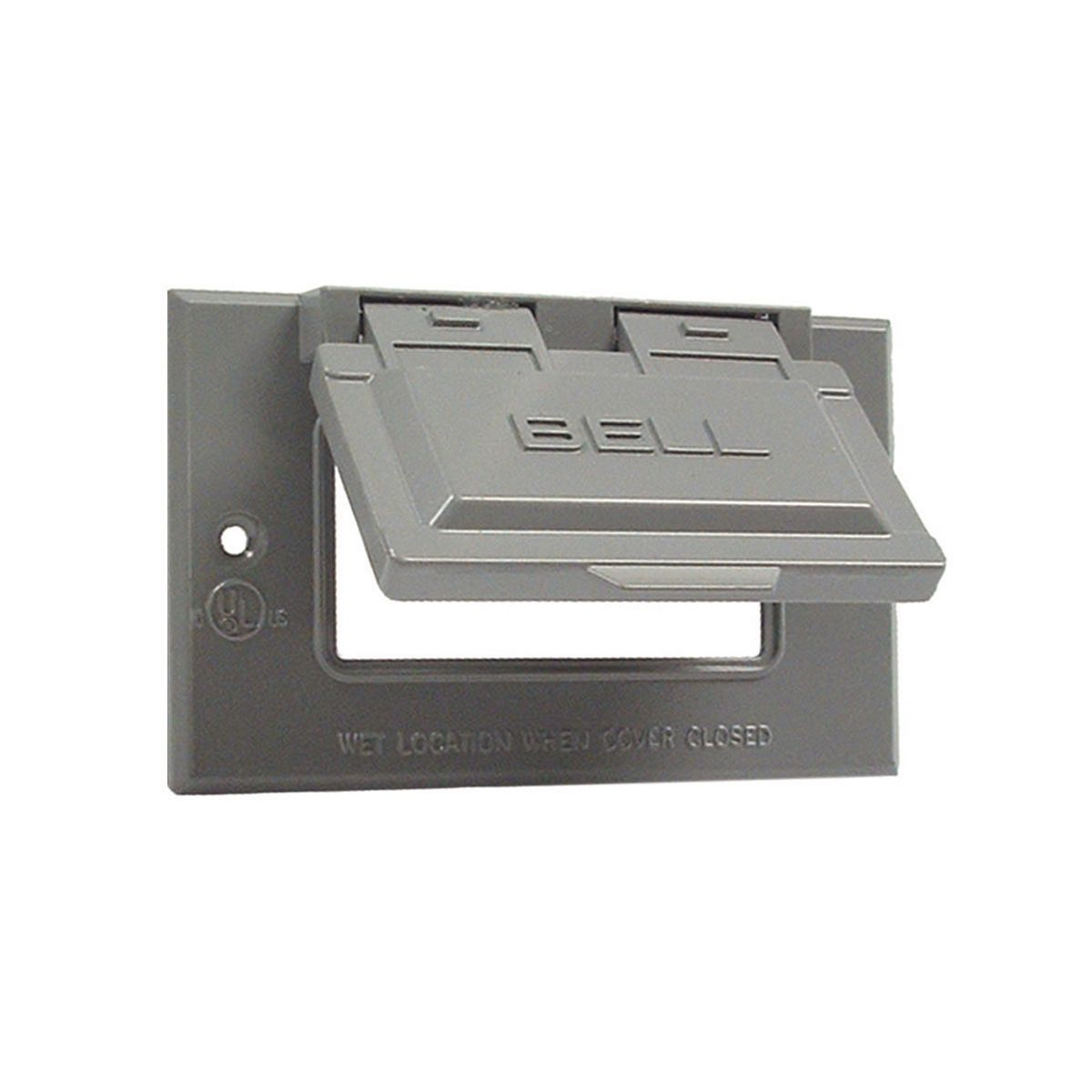 Hubbell-Raco 5101-0 BELL Rayntite Weatherproof Flip Cover