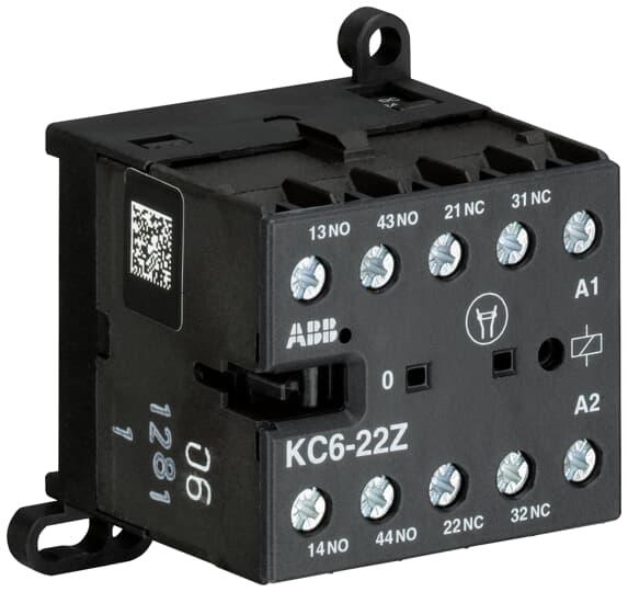 ABB KC6-22Z-01 Mini Contactor Relay