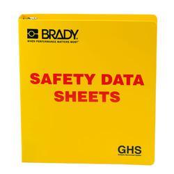 Brady 121183 Right-To-Know SDS Binder