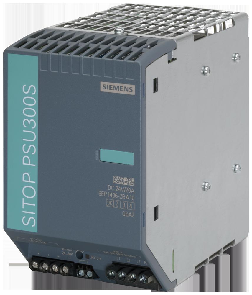 Siemens 6EP14362BA10 Power Supply