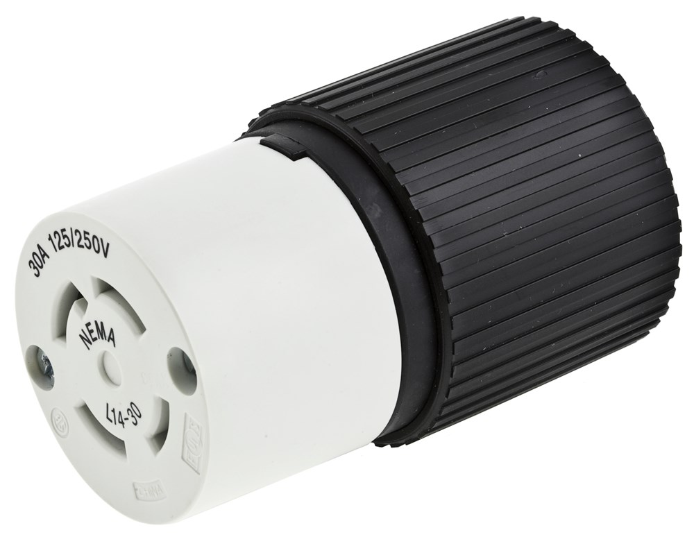 Hubbell L1630C Locking Connector