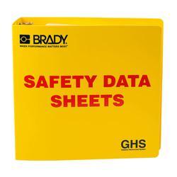 Brady 121184 Right-To-Know SDS Binder