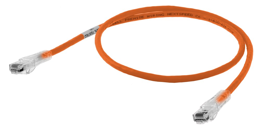 Hubbell HC6OR03 Patch Cord