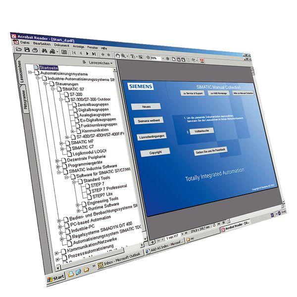 Siemens 6ES79988XC018YE2 Software