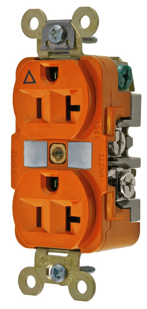 Hubbell IG5362 Straight Blade Receptacle