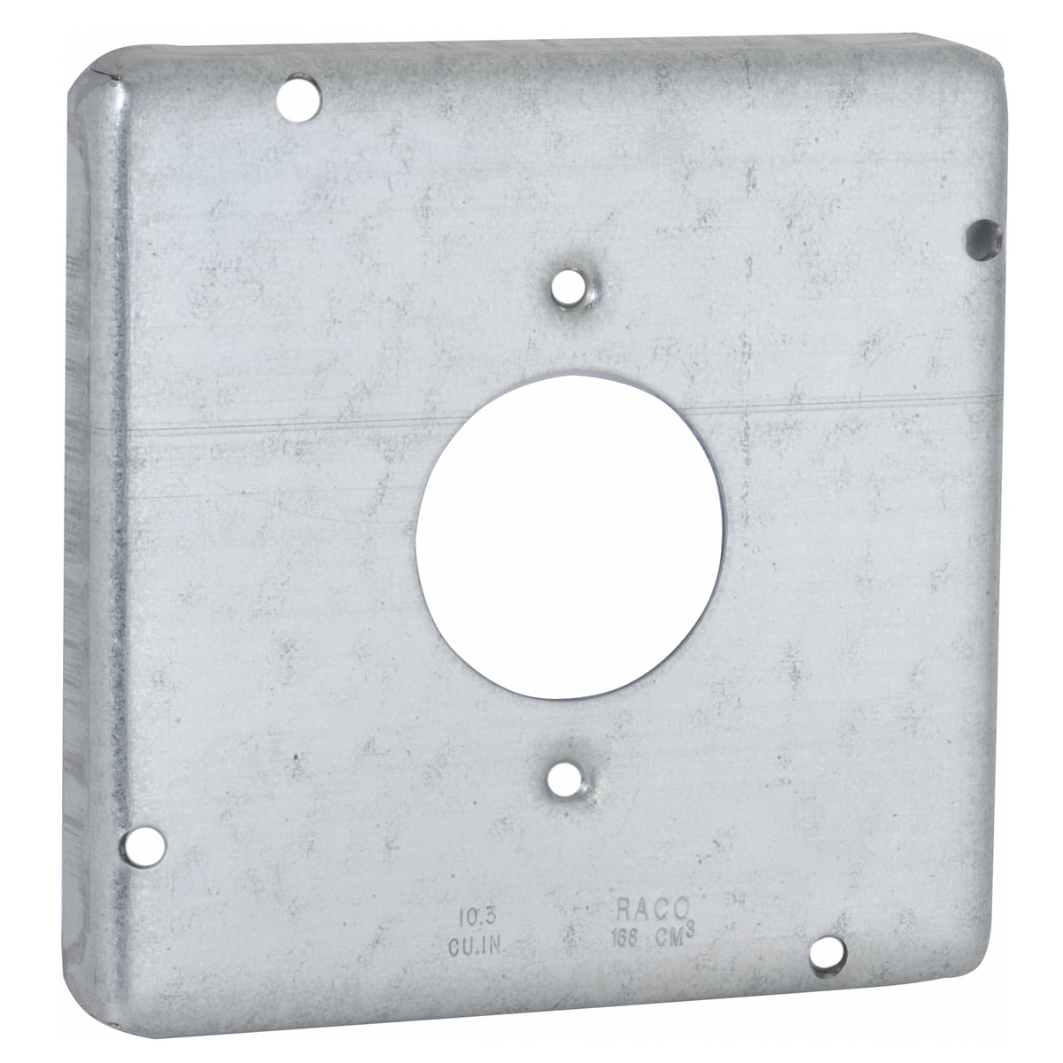 Hubbell-Raco 887 Exposed Work Cover