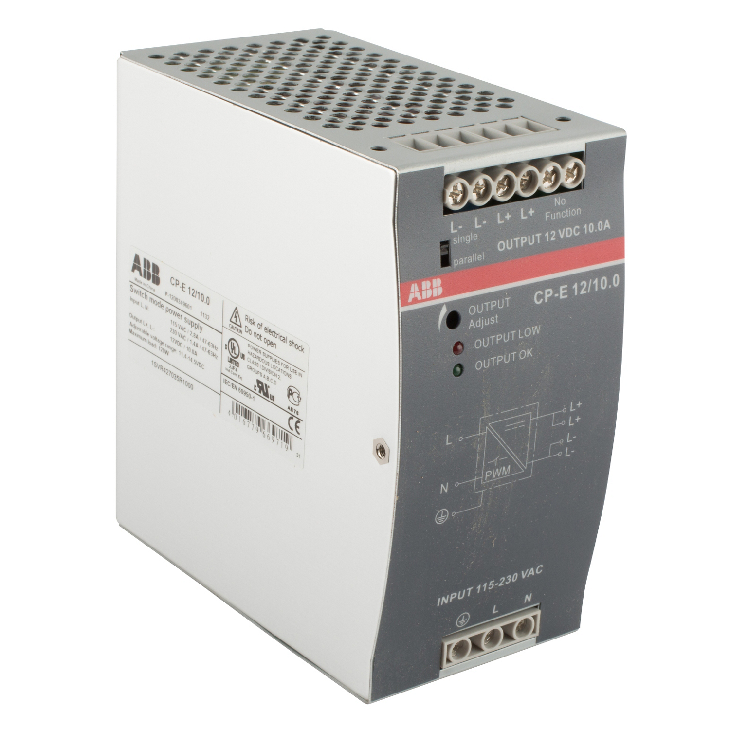 ABB 1SVR427035R1000 Power Supply Unit