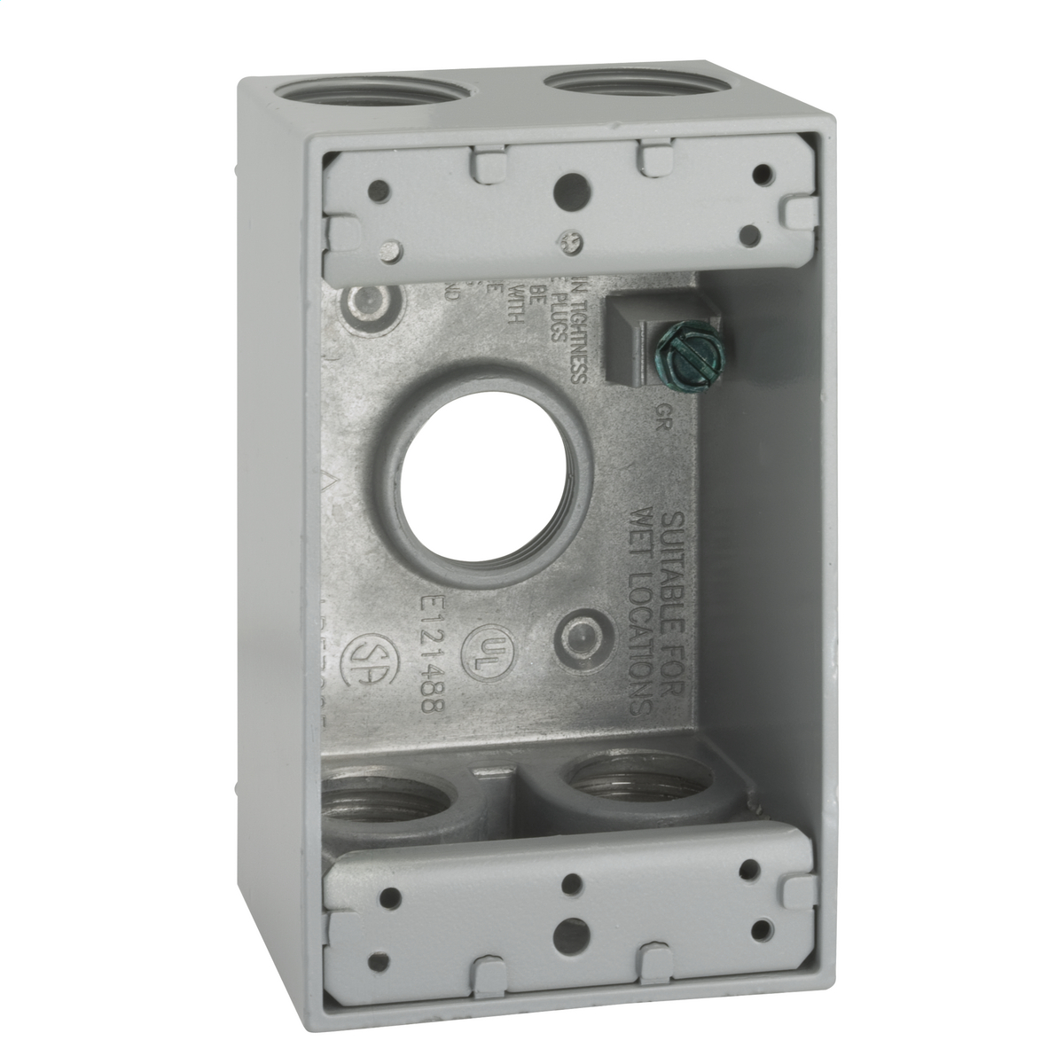 Hubbell-Raco 5331-0 BELL Weatherproof Outlet Box