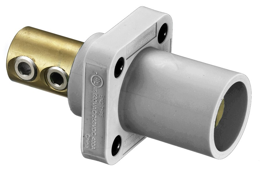 Hubbell HBLMRW Single Pole Receptacle