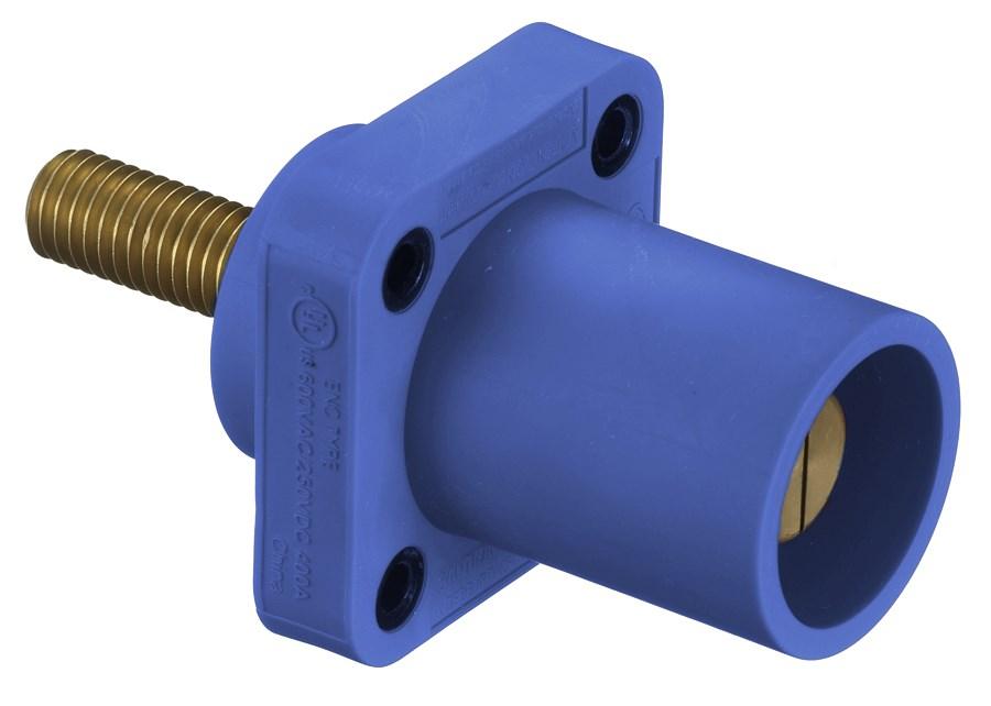 Hubbell HBLMRSBL Single Pole Receptacle