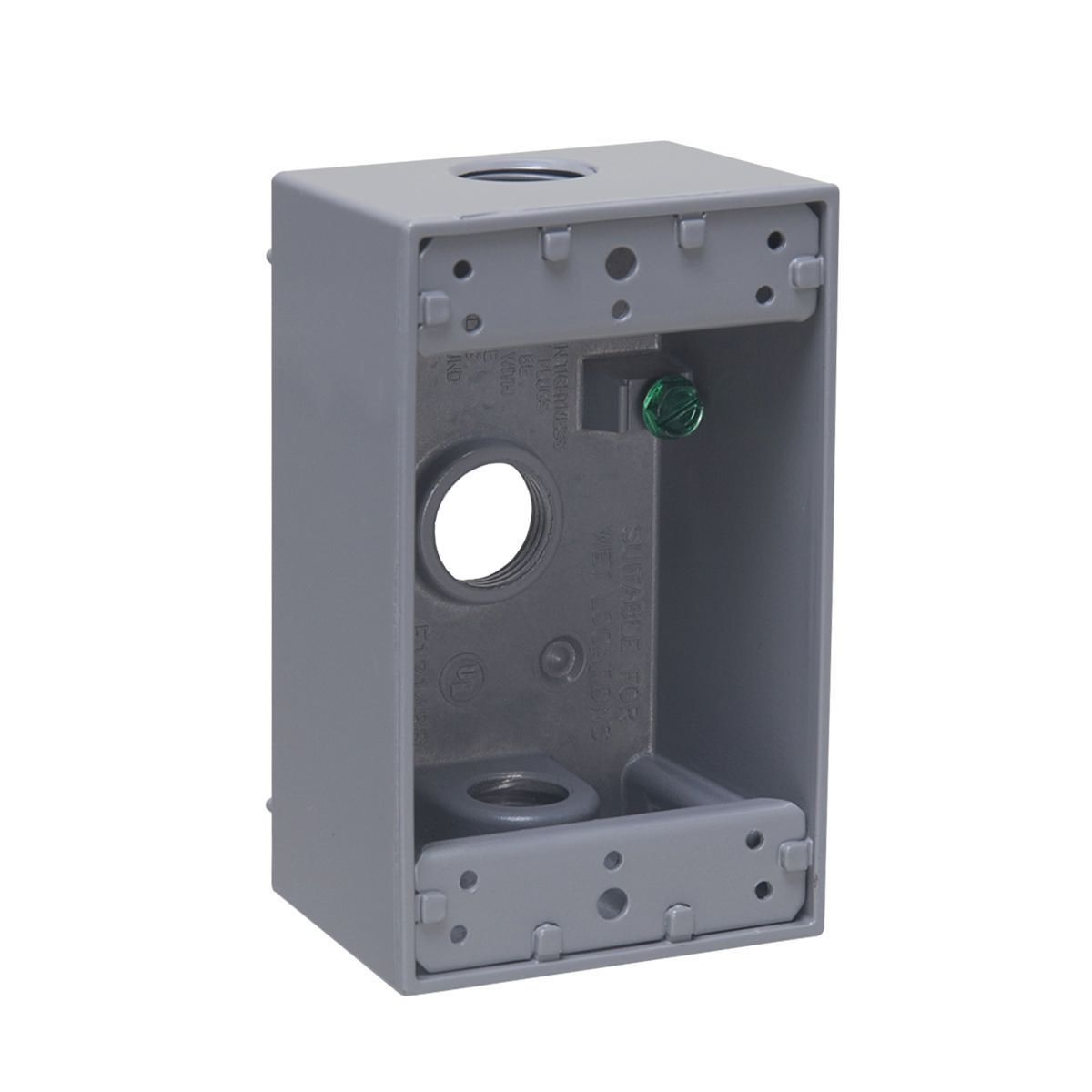 Hubbell-Raco 5320-0 BELL Weatherproof Outlet Box