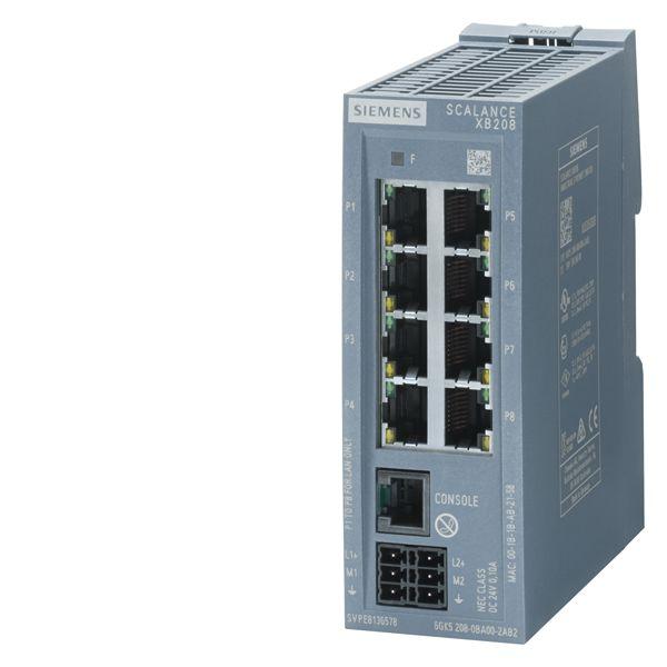 Siemens 6GK52080BA002AB2 Industrial Ethernet Switch
