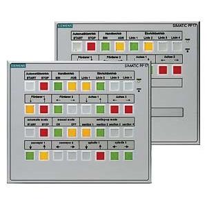 Siemens 6AV36884CX070AA0 Push Button Panel
