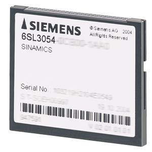 Siemens 6SL30540CF001AA0 Compact Flash Card