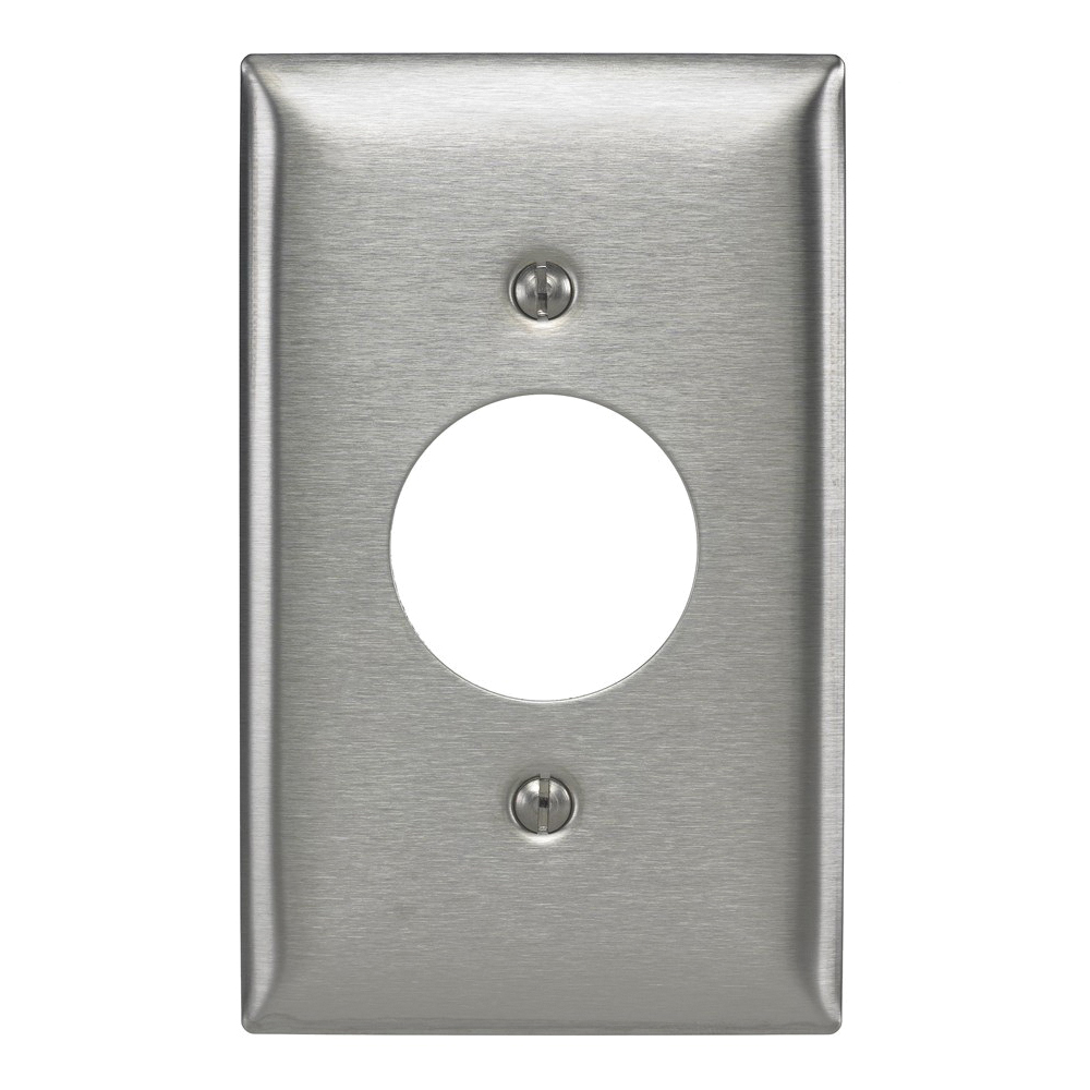 Hubbell SS7 Receptacle Wallplate