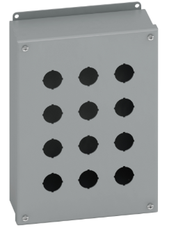 Electrical pushbutton enclosure