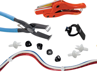 Wiring duct fitting and accessories