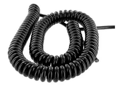 Coiled cord assembly