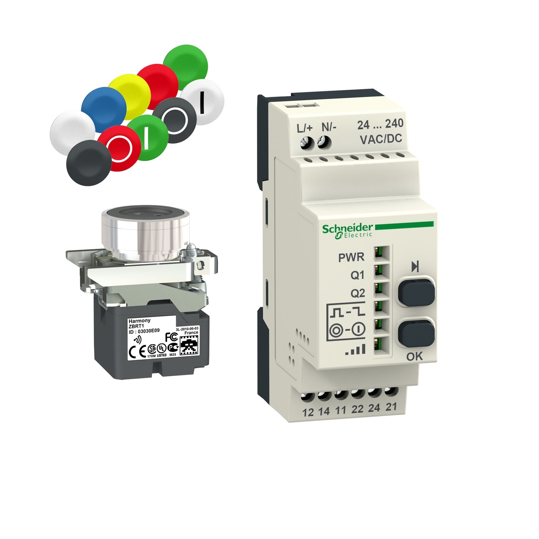 Wireless and Batteryless Pushbuttons