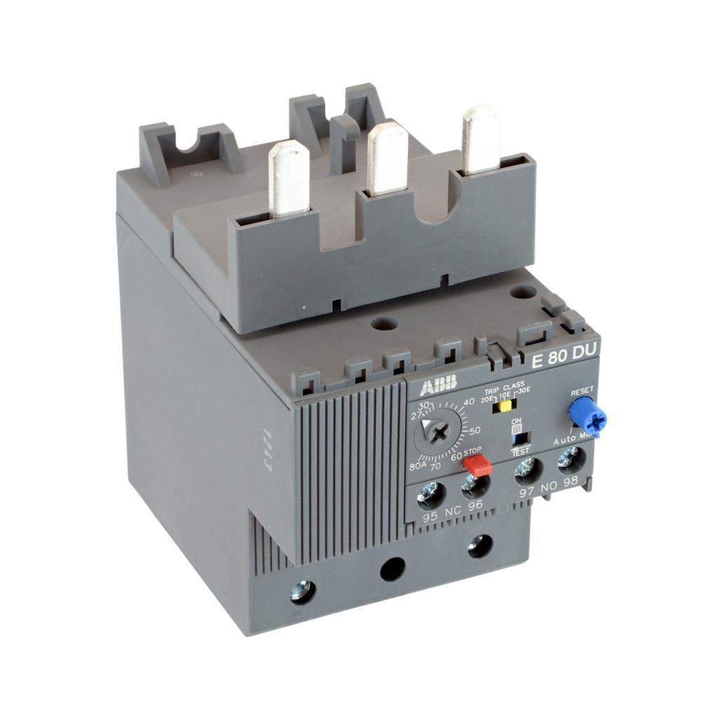 ABB E80DU80 Electronic Overload Relay