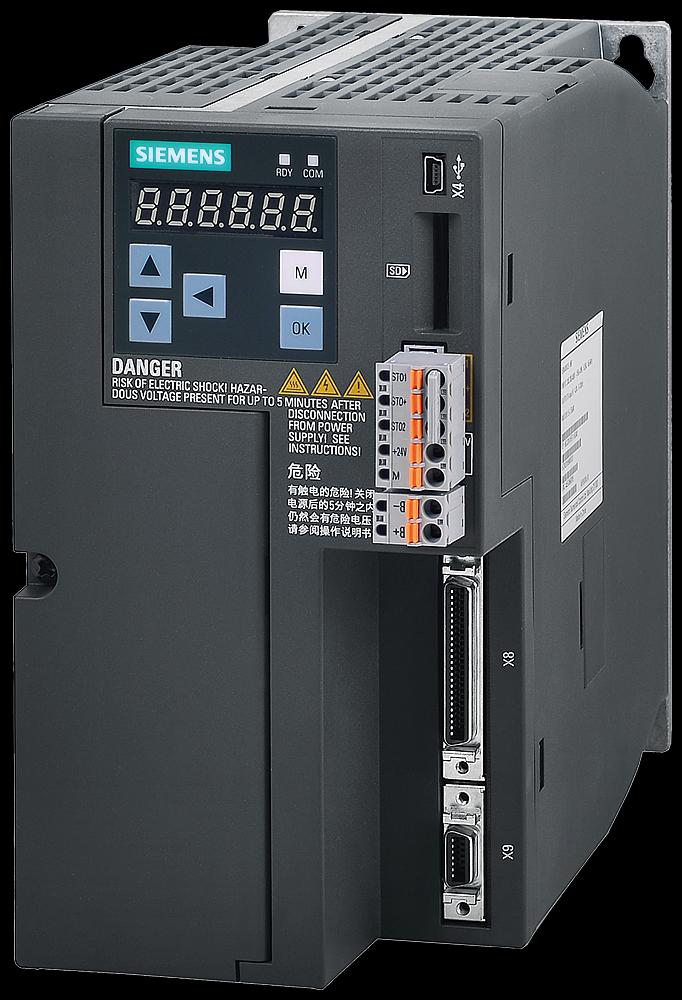 Siemens 6SL32105FE115UA0 Servo Drive