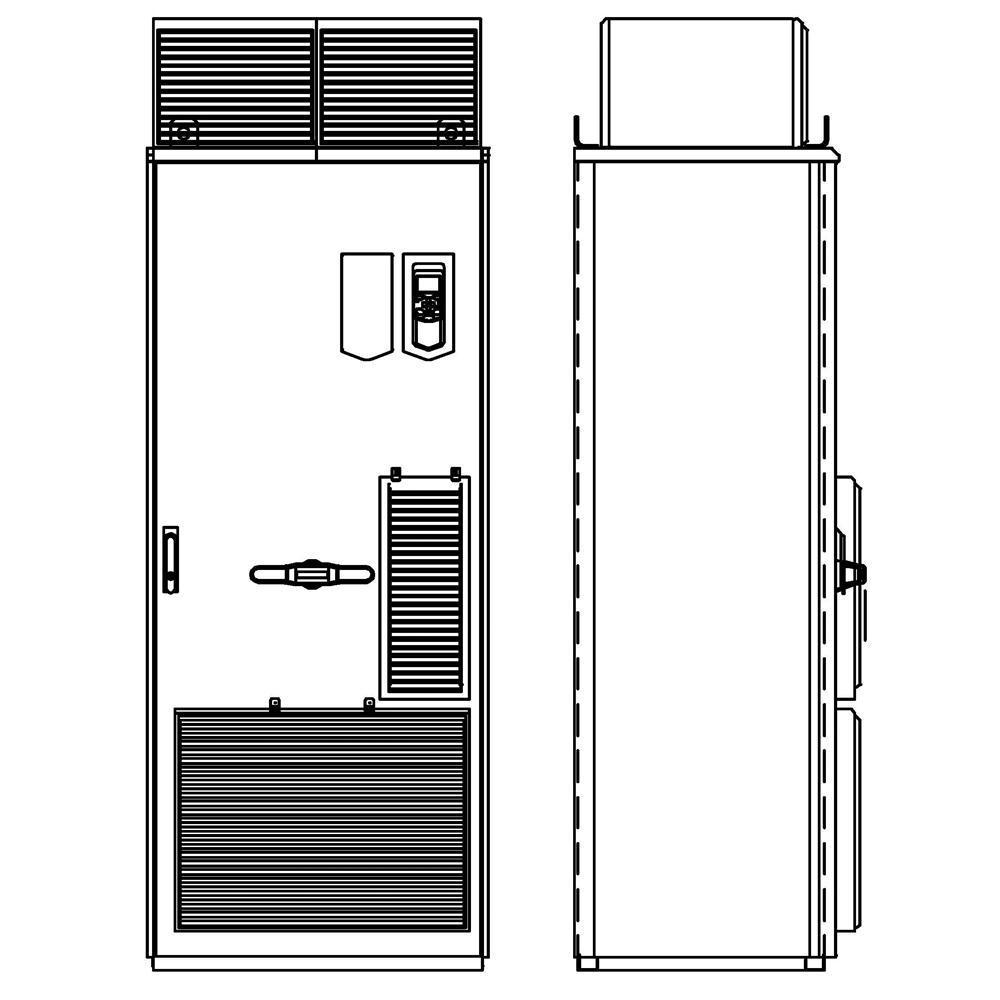 ABB ACS880-07-0503A-5+B055+C129 Cabinet AC Drive