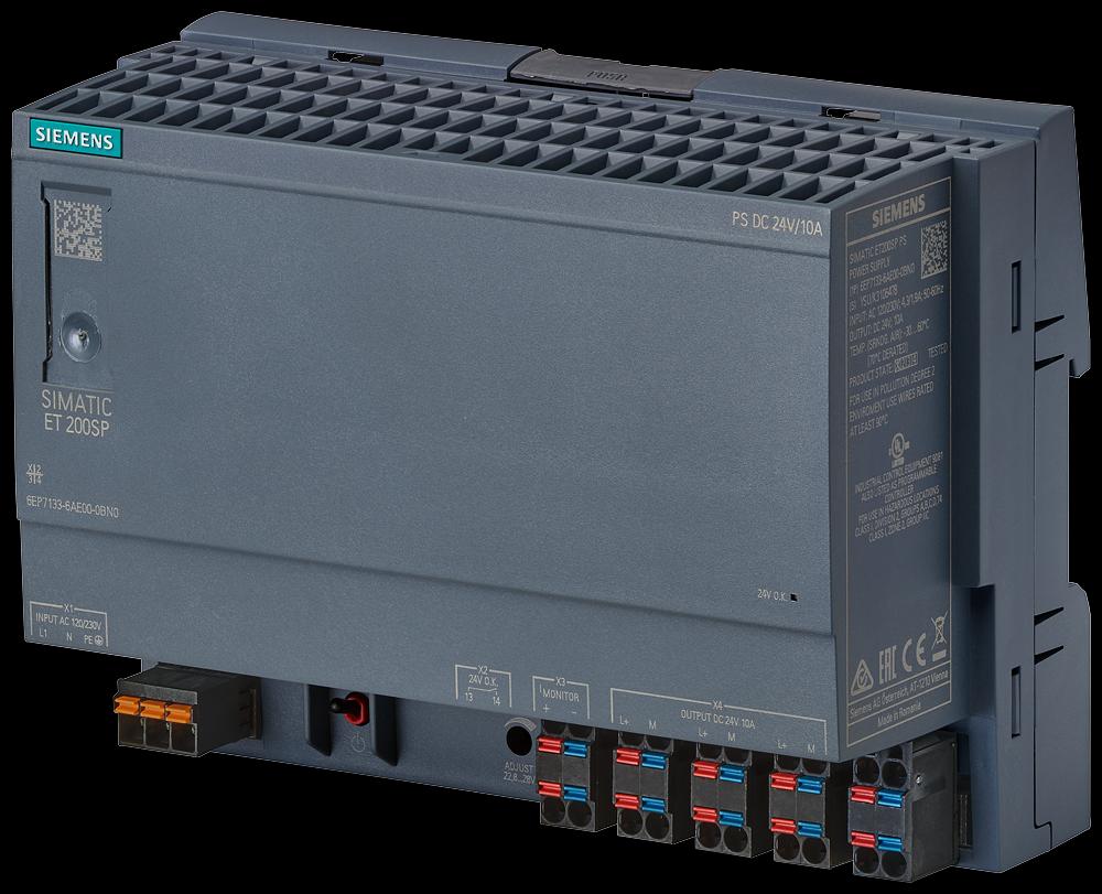 Siemens 6EP71336AE000BN0 SIMATIC Stabilized Power Supply Module