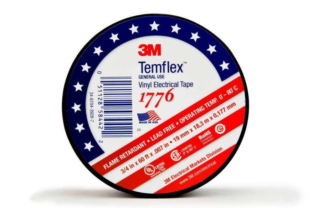 3M 1776-3/4X60FT Electrical Tape