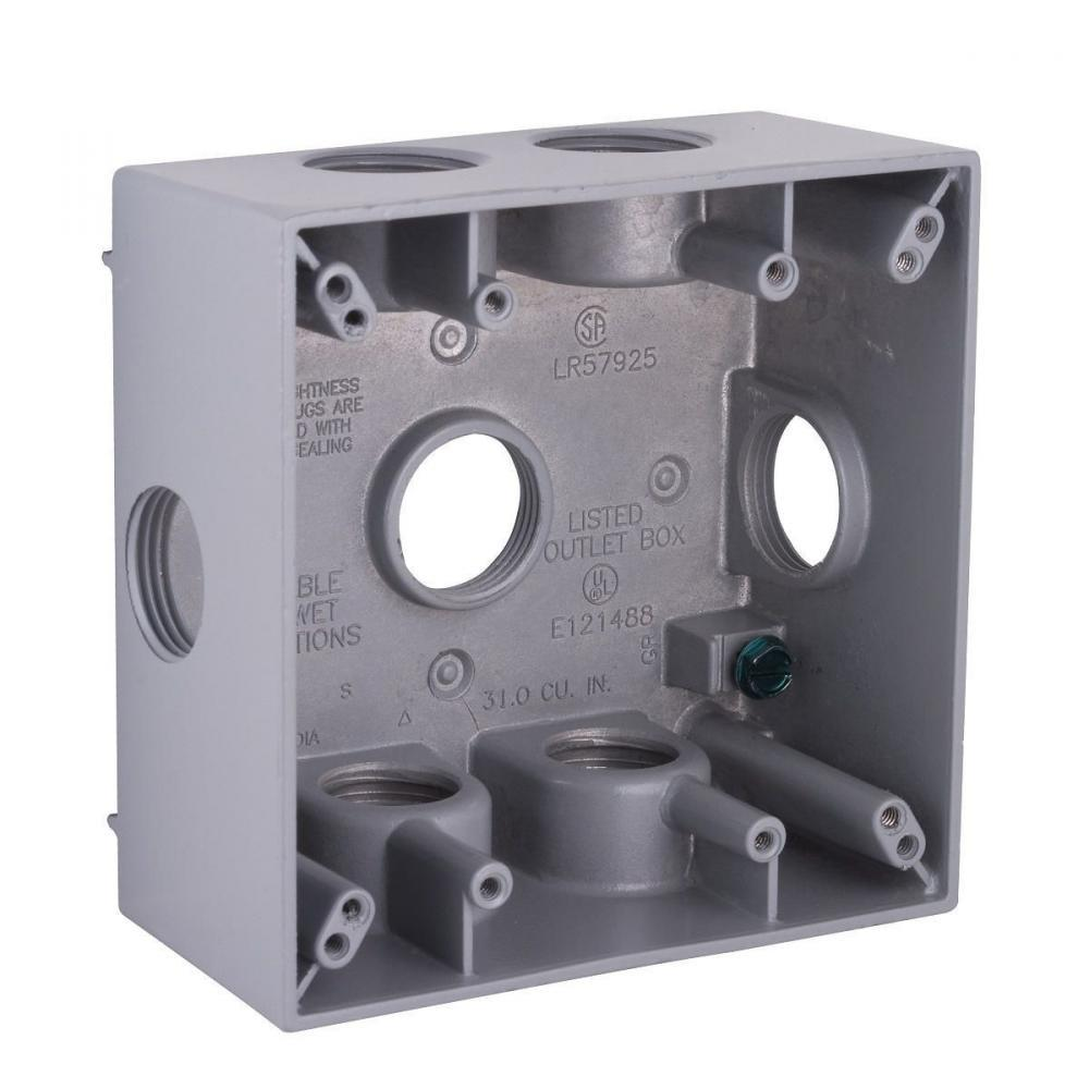 Hubbell-Raco 5346-0 BELL Weatherproof Outlet Box