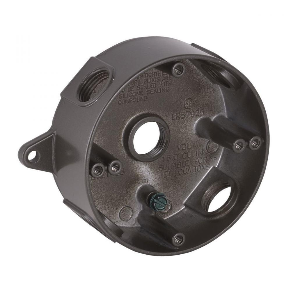 Hubbell-Raco 5361-2 BELL Weatherproof Splice Box